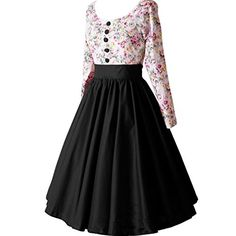Partiss Women Retro Vintage Swing Hepburn Bubble Dress (C... https://www.amazon.com/dp/B01HPNRQJ2/ref=cm_sw_r_pi_dp_4bBHxbE9SZT02