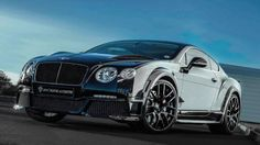 Onyx Concept Bentley Continental GTX. Looks aggressive!