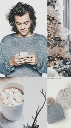 Harry Styles Winter Lockscreen | ctto: @stylinsonphones