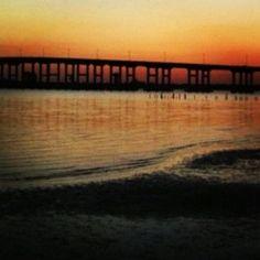 Biloxi-Ocean Springs Bridge in Ocean Springs, Mississippi. Photo by Tammie Johnson