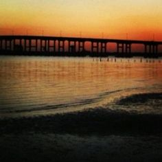 Biloxi-Ocean Springs Bridge in Ocean Springs, Mississippi. Photo by Tammie Johnson