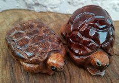 wooden tortoises