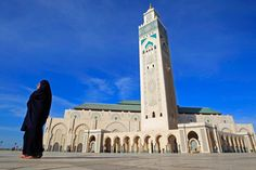 40 beautiful mosques around the world Beautiful Mosques, Art And Architecture, Islam, Casablanca Morocco, Around The Worlds, Country, City, Building, Travel