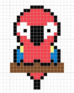 squared designs for printing and designing. This activity is ideal for the development of attention, memory and motor coordination. Cenefas, pixel art, art game, squared designs also help in the literacy process. Graph Paper Drawings, Graph Paper Art, Easy Drawings, Pixel Art Emoji, Anime Pixel Art, Easy Pixel Art, Pixel Art Grid, Minecraft Pixel Art, Minecraft Crafts