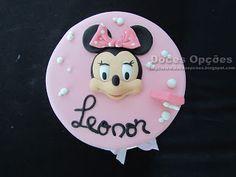 Doces Opções: A Minnie no 4º aniversáro da Leonor