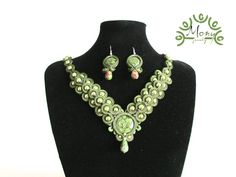 Happy Easter soutache set, made by me!
