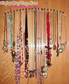 Jewelry Storage And Organization « Diy decorating and crafts – EnjoyCrafting.com
