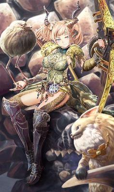 Kulve Taroth armor Monster Hunter Manga, Monster Hunter Memes, Monster Girl, Monster Hunter World Wallpaper, Fantasy Warrior, Fantasy Girl, Female Armor, Cool Monsters, Demon Girl