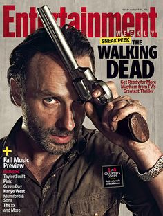 The Walking Dead | For more exclusive Walking Dead info, pick up a copy of EW on news stands or purchase all four collectible covers online now.