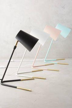 Gold Dipped Task Lamp