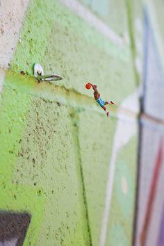 SLINKACHU http://www.widewalls.ch/artist/slinkachu/ #installation #photography #streetart