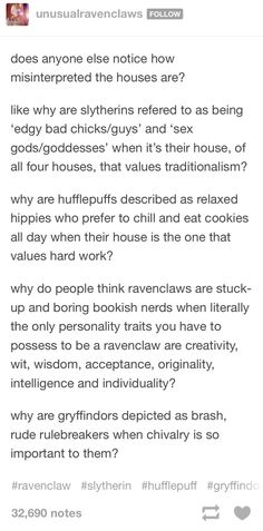 So true!  I'm a Hufflepuff so I know how this feels!  But I do like cookies. :)