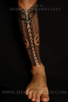 Want to get lower leg done like this someday.