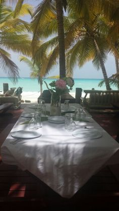 Lunch at Saona Island, Dominican Republic