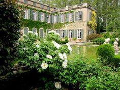 Park and Garden of  Castle  Brantes - Sorgues  - Vaucluse - Provence-Alpes-Côte…