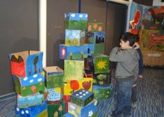 Profesora Corimar: ideas para hacer carteleras creativas para exposiciones (parabanes y pendones)