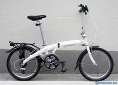 Je vends un vélo en bon état qui est en excellent état ! Aucun frais à prévoir Dahon Vélos Pliants MU P8 20 Pouce 8V Blanc AVEC Eclairage dynamo Dahon...