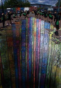 El sitio especializado Street Art Utopia eligió las 100 mejores fotos de arte urbano de todo el mundo a lo largo de 2011. Stencil, grafittis y todo tipo de expresión artística tiene lugar entre las mejores fotos de arte urbano 2011. Banksy, Spider-man, Batman, R2D2, Pacman, sexo, Facebook, política, animales, adolescentes, Burger King, la guerra y el arte conviven en la elección de Street Art Utopia. Foto: STREET ART UTOPIA