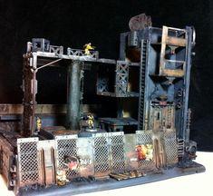 Buildings, City, Derelict, Hab, Necromunda, Rust, Scratch Build, Terrain, Warhammer 40,000