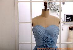 Herz-ausschnitt Kolumne  Elegante Brautkleider 2013  aus Chiffon mit Blumen