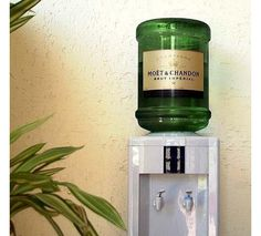 It may be only a fantasy, but the idea of chilled champagne on tap does have appeal!