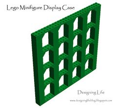Designing Life: Getting Geeky for the Holidays: Lego Minifigure Display Case