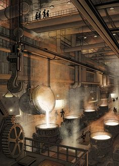 The Smeltery, Penko Gelev on ArtStation at…