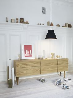 Muuto Long Reflect Sideboard, Buffet, Console and Hall Table. Modern Danish and Scandinavian Designer Furniture and Homewares.