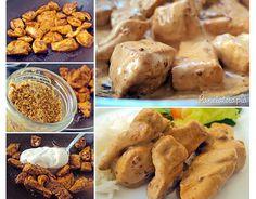 Panelaterapia  Tempero (melhor do mundo) para frangos: (quantidade para um peito de frango sem osso cortado em cubos):