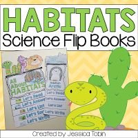Habitat Activities and Lesson Ideas- hands-on crafts for kids and reading comprehension for a 1st and 2nd grade habitat science unit study..