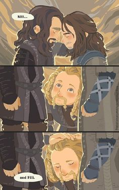 Yes Thorin. Two nephews. TWO.