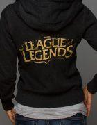 J!NX : League of Legends Shield Crest Women's Zip-up Hoodie