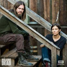 Jesus and Maggie #twd season 7b