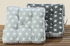 Poduszka na krzesło szara