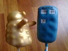 doctor who cake pops