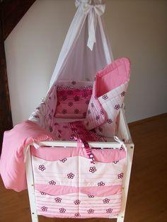5 DÍLNÁ SOUPRAVA do dětské postýlky Toddler Bed, Home Decor, Child Bed, Homemade Home Decor, Decoration Home, Room Decor, Interior Design, Home Interiors, Interior Decorating
