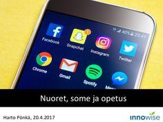 Nuoret, some ja opetus. Harto Pönkä. Koulutus 20.4.2017