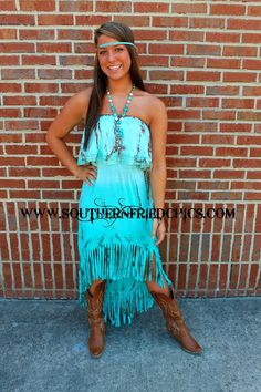Indian Princess Of Fringe Dress $65.99! I think it's the hippie in me that loves this dress! :)