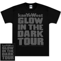 4c1e0f1dc40 Check out Kanye West Reflective Ink Glow Tour Tee on  Merchbar. Kanye West  Shirt