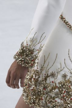 Chanel, couture autumn/winter 2014 details