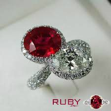 Auspicious Ruby gemstone ring loved by all age group women