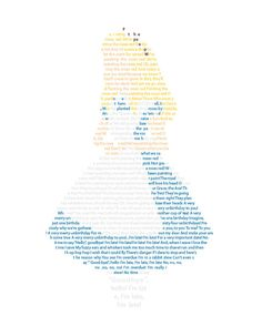 Alice in Wonderland in Text Art - Disney Art - Alice in Wonderland Art -  Late Late Late