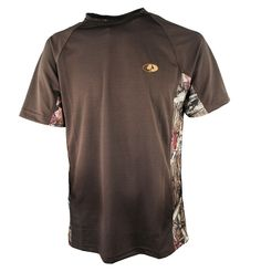 Mossy Oak Camp Short Sleeve Tee with Break-Up. Available @ Mossy Oak Foley,Al