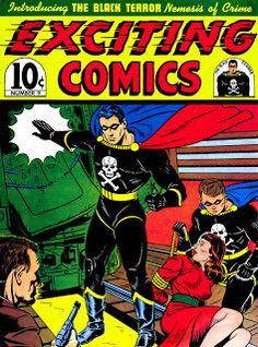 Golden Age Heroes: BLACK TERROR