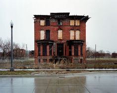 Brush Park, Detroit: Historic Home of Decaying Mansions and Elite Abandonments
