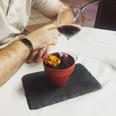 #chocolatemousse on a plant pot.. yay by katrinavarro