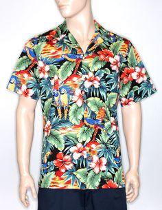 06f92a73 Cotton Shirts. Hawaii OutfitsAloha ShirtShirt StoreParrotsHulaHawaiianTropicalReal  ...
