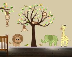Décalque de mur pour le hibou garçons arbre de par BeautifulWalls