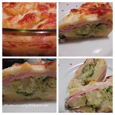 Obľúbené recepty: Zapekaná brokolica so šunkou a zemiakmi