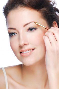 How to Shape Your Eyebrows Using Makeup | Divine Caroline